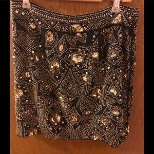 Gorgeous beaded mini Skirt